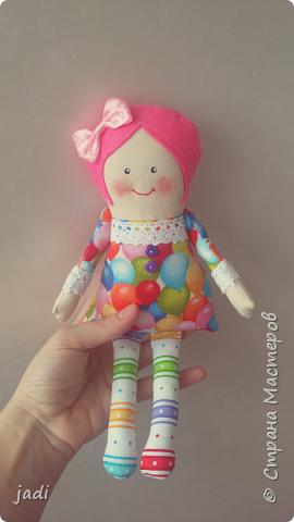 Эх, мальчишки у меня... а для их подружек шью куклы! )))) фото 1