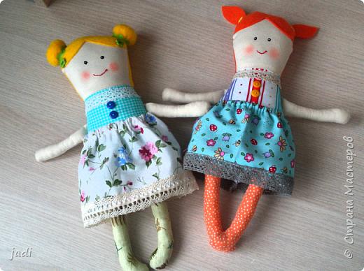 Эх, мальчишки у меня... а для их подружек шью куклы! )))) фото 3