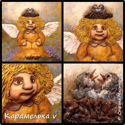 Привет Страна! Снова вернулась  к моим любимым ангелочкам),по работам питерской художницы Галины Чувиляевой. фото 4