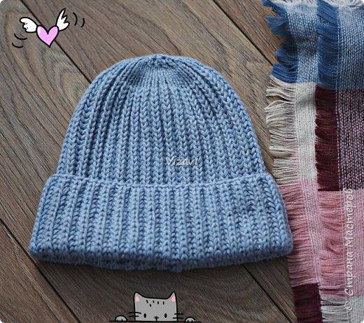 Вот такие шапочки навязала за последний месяц.  Эта шапочка и снуд связаны из пряжи Ализе суперлана макси.  фото 3
