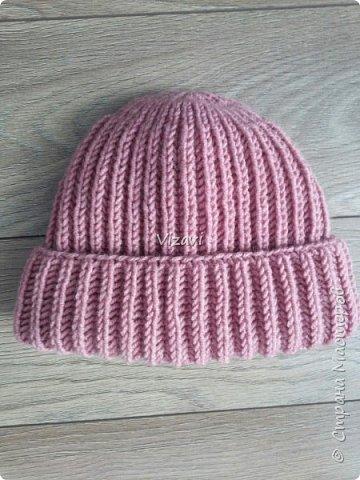 Вот такие шапочки навязала за последний месяц.  Эта шапочка и снуд связаны из пряжи Ализе суперлана макси.  фото 4