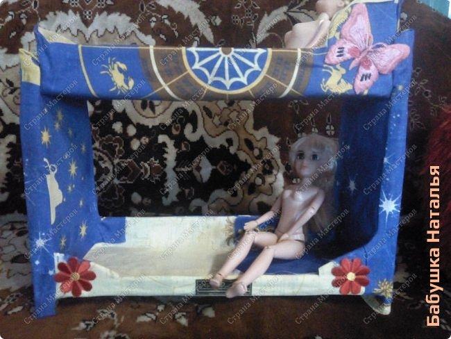 Кукольная кровать