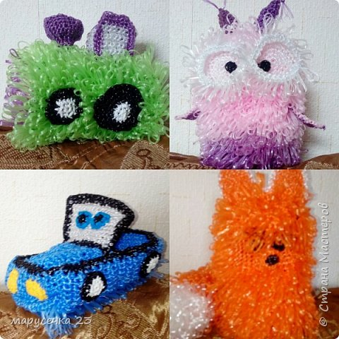 Мочалки игрушки мои фото 1