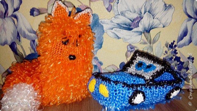 Мочалки игрушки мои фото 5