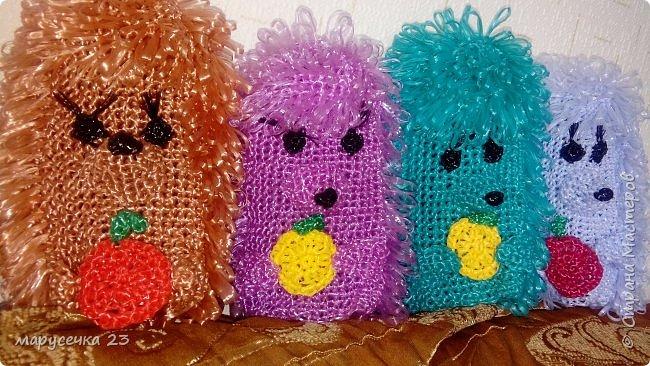 Мочалки игрушки мои фото 3