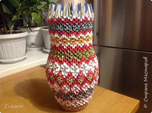 Модульное оригами  ,новые поделки фото 9