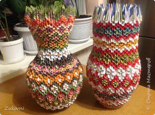 Модульное оригами  ,новые поделки фото 10