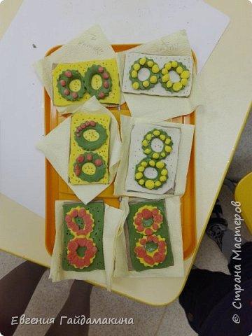 Вот и продолжение... веду кружок лепки из соленого теста в детском саду.   фото 14
