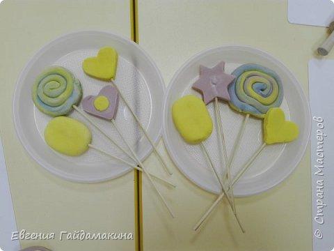 Вот и продолжение... веду кружок лепки из соленого теста в детском саду.   фото 19