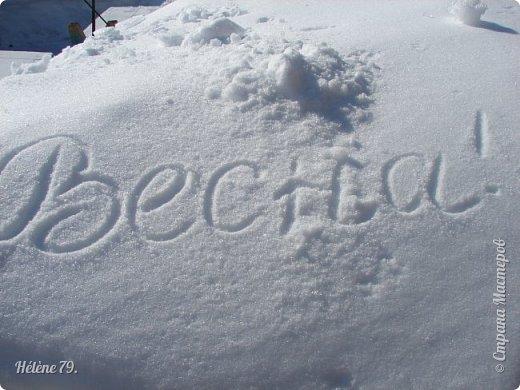 """"""" На чисто-белом покрывале снега, рябины красной куст огнём горит...  фото 30"""