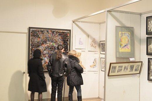 21 марта 2017 года состоялось открытие международной выставки-конкурса Russian Art Week в Московском Доме Художника на Кузнецком мосту! фото 3