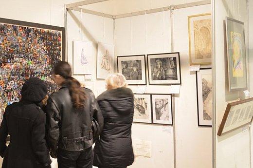 21 марта 2017 года состоялось открытие международной выставки-конкурса Russian Art Week в Московском Доме Художника на Кузнецком мосту! фото 4