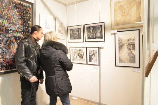 21 марта 2017 года состоялось открытие международной выставки-конкурса Russian Art Week в Московском Доме Художника на Кузнецком мосту! фото 8