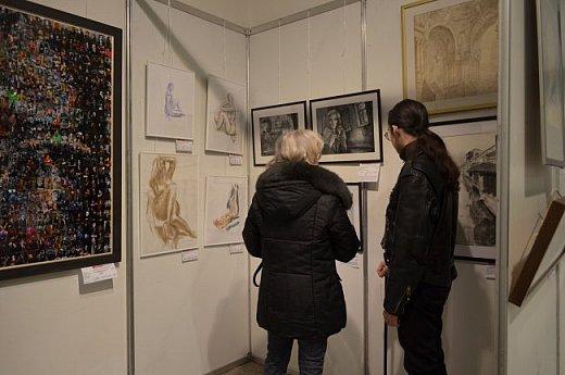 21 марта 2017 года состоялось открытие международной выставки-конкурса Russian Art Week в Московском Доме Художника на Кузнецком мосту! фото 9