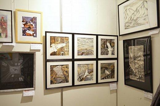 21 марта 2017 года состоялось открытие международной выставки-конкурса Russian Art Week в Московском Доме Художника на Кузнецком мосту! фото 11