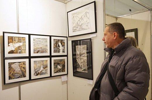 21 марта 2017 года состоялось открытие международной выставки-конкурса Russian Art Week в Московском Доме Художника на Кузнецком мосту! фото 13