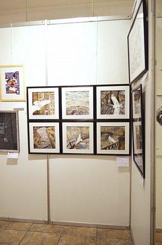 21 марта 2017 года состоялось открытие международной выставки-конкурса Russian Art Week в Московском Доме Художника на Кузнецком мосту! фото 17