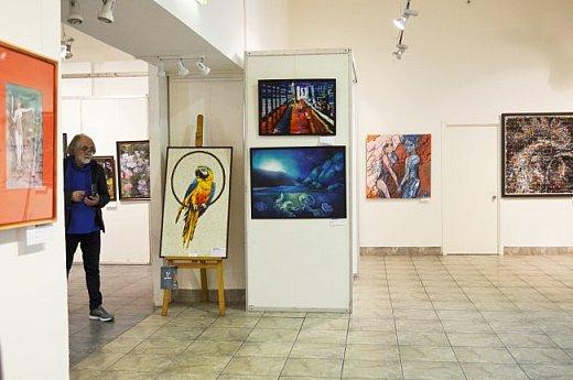 21 марта 2017 года состоялось открытие международной выставки-конкурса Russian Art Week в Московском Доме Художника на Кузнецком мосту! фото 20