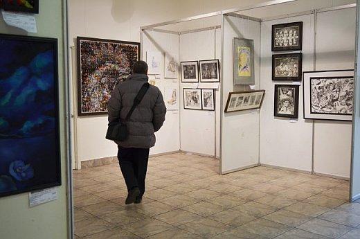 21 марта 2017 года состоялось открытие международной выставки-конкурса Russian Art Week в Московском Доме Художника на Кузнецком мосту! фото 22
