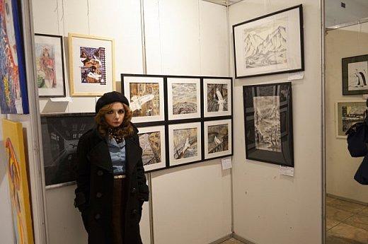 21 марта 2017 года состоялось открытие международной выставки-конкурса Russian Art Week в Московском Доме Художника на Кузнецком мосту! фото 24