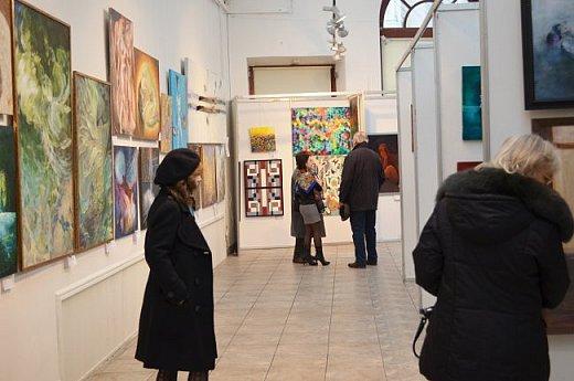 21 марта 2017 года состоялось открытие международной выставки-конкурса Russian Art Week в Московском Доме Художника на Кузнецком мосту! фото 30