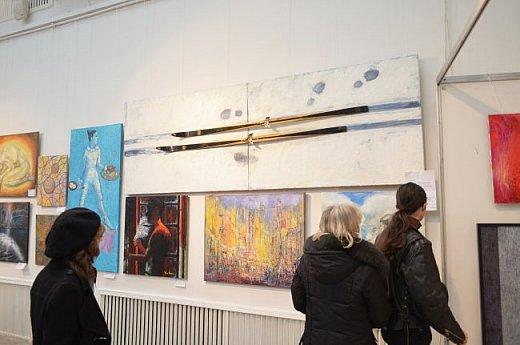 21 марта 2017 года состоялось открытие международной выставки-конкурса Russian Art Week в Московском Доме Художника на Кузнецком мосту! фото 32