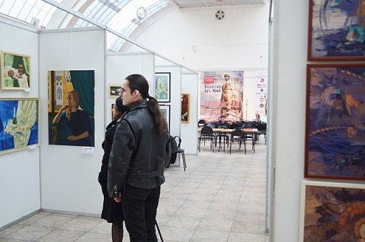 21 марта 2017 года состоялось открытие международной выставки-конкурса Russian Art Week в Московском Доме Художника на Кузнецком мосту! фото 35