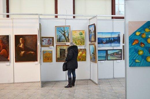 21 марта 2017 года состоялось открытие международной выставки-конкурса Russian Art Week в Московском Доме Художника на Кузнецком мосту! фото 36