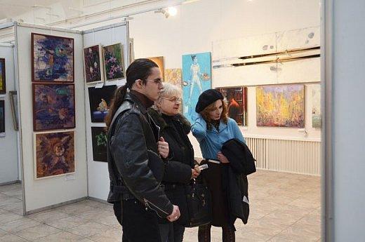 21 марта 2017 года состоялось открытие международной выставки-конкурса Russian Art Week в Московском Доме Художника на Кузнецком мосту! фото 41