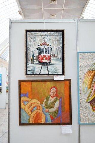 21 марта 2017 года состоялось открытие международной выставки-конкурса Russian Art Week в Московском Доме Художника на Кузнецком мосту! фото 42