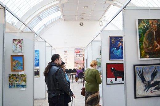 21 марта 2017 года состоялось открытие международной выставки-конкурса Russian Art Week в Московском Доме Художника на Кузнецком мосту! фото 44