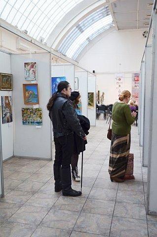 21 марта 2017 года состоялось открытие международной выставки-конкурса Russian Art Week в Московском Доме Художника на Кузнецком мосту! фото 45