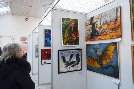 21 марта 2017 года состоялось открытие международной выставки-конкурса Russian Art Week в Московском Доме Художника на Кузнецком мосту! фото 46
