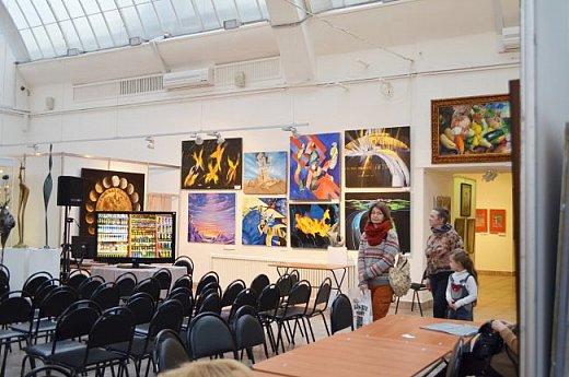 21 марта 2017 года состоялось открытие международной выставки-конкурса Russian Art Week в Московском Доме Художника на Кузнецком мосту! фото 48
