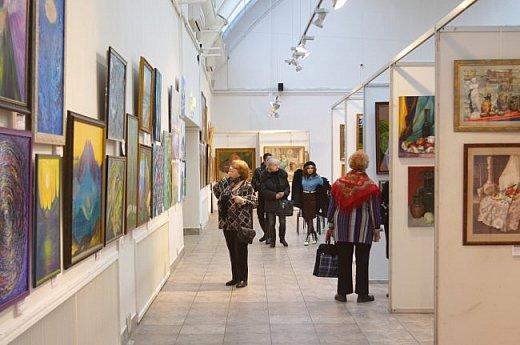 21 марта 2017 года состоялось открытие международной выставки-конкурса Russian Art Week в Московском Доме Художника на Кузнецком мосту! фото 51