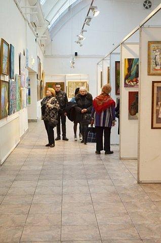 21 марта 2017 года состоялось открытие международной выставки-конкурса Russian Art Week в Московском Доме Художника на Кузнецком мосту! фото 52