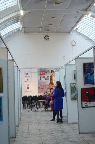 21 марта 2017 года состоялось открытие международной выставки-конкурса Russian Art Week в Московском Доме Художника на Кузнецком мосту! фото 53