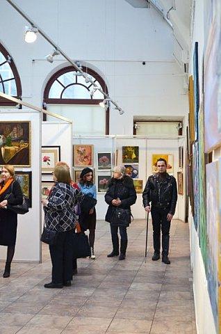 21 марта 2017 года состоялось открытие международной выставки-конкурса Russian Art Week в Московском Доме Художника на Кузнецком мосту! фото 55