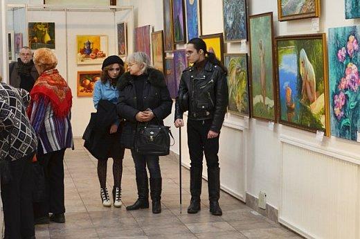 21 марта 2017 года состоялось открытие международной выставки-конкурса Russian Art Week в Московском Доме Художника на Кузнецком мосту! фото 57