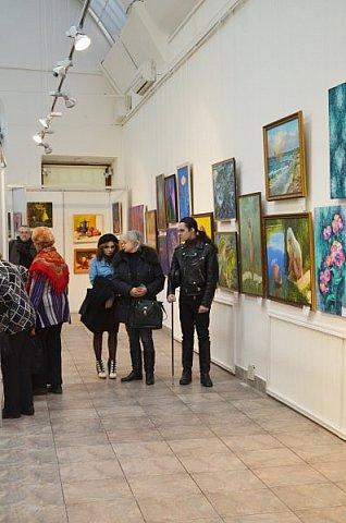 21 марта 2017 года состоялось открытие международной выставки-конкурса Russian Art Week в Московском Доме Художника на Кузнецком мосту! фото 56