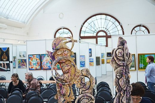 21 марта 2017 года состоялось открытие международной выставки-конкурса Russian Art Week в Московском Доме Художника на Кузнецком мосту! фото 61
