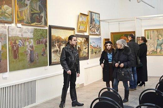 21 марта 2017 года состоялось открытие международной выставки-конкурса Russian Art Week в Московском Доме Художника на Кузнецком мосту! фото 63