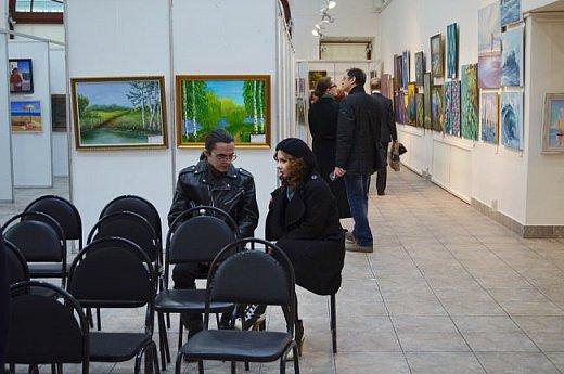 21 марта 2017 года состоялось открытие международной выставки-конкурса Russian Art Week в Московском Доме Художника на Кузнецком мосту! фото 64