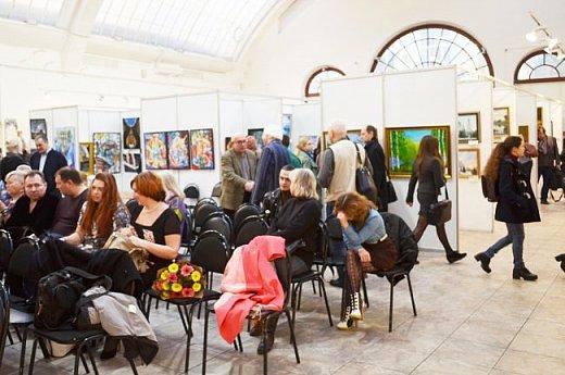 21 марта 2017 года состоялось открытие международной выставки-конкурса Russian Art Week в Московском Доме Художника на Кузнецком мосту! фото 67