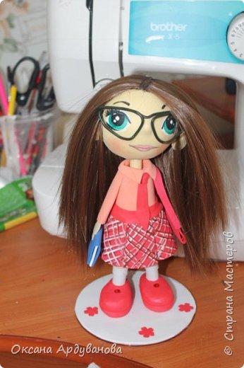Куклы  сделанные на заказ с портретным сходством. Материал фоамиран, волосы трессы для кукол. фото 5
