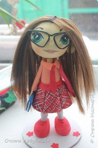 Куклы  сделанные на заказ с портретным сходством. Материал фоамиран, волосы трессы для кукол. фото 4