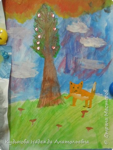 Добрый день всем  заглянувшим!!! Показываю рисунки своим ребят,  это наши весенние зарисовки. фото 7