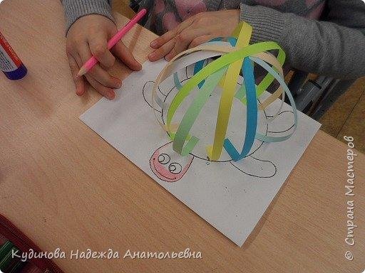Добрый день всем заглянувшим! Вот решила показать работы своих дошколяток. Провела интегрированное занятие математика, окружающий мир  и аппликация. Конечный результат занятия. фото 6