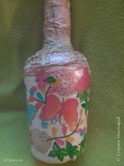 Доброе время суток...жители Страны...бутылочка экстрим...потому что на изготовление было всего полтора дня...))) как то неожиданно людям для домашнего напитка потребовалась вот такая штука...захотелось им красиво подарить...))) ОЧЕНЬ НАДО!!!!! Вот что из этого получилось... фото 6