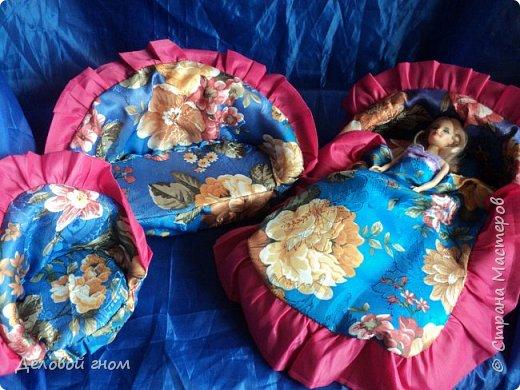 Мебель для Барби спальный гарнитур фото 3
